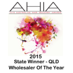 AHIA Wholesaler Of The Year State Winner Queensland 2015