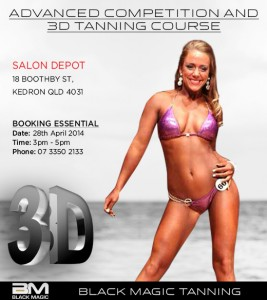 Advanced Competition and 3D Tanning Course