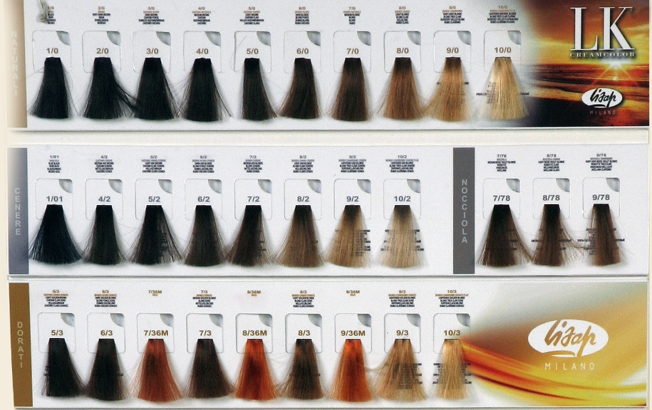 Nouvelle Hair Color Chart  Dark Brown Hairs