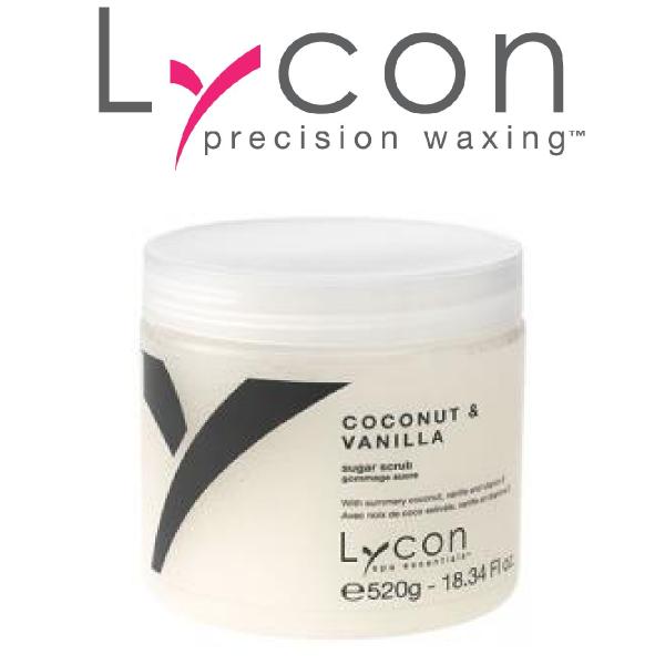 Lycon Spa Essentials Coconut and Vanilla Scrub