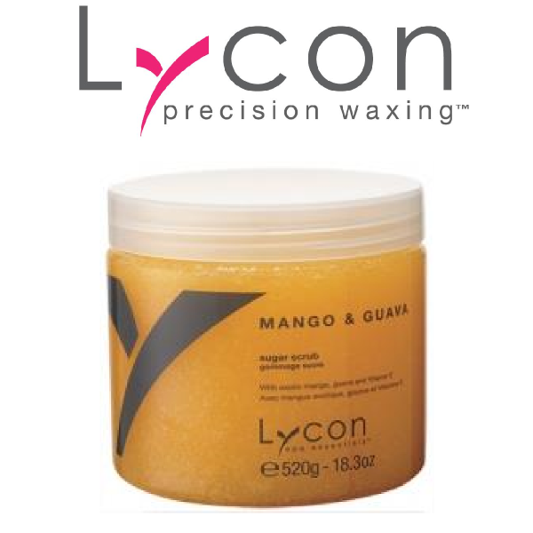 Lycon Spa Essentials Mango And Guava Sugar Scrub