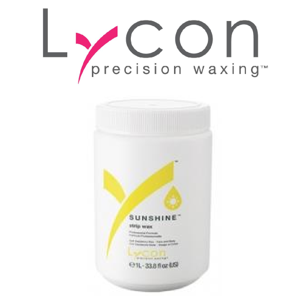 Lycon Strip Wax Sunshine