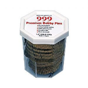999 Bobby Pins 1.5″ Gold