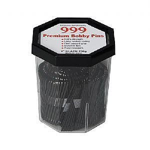 999 Bobby Pins 2″ Black