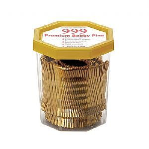 999 Bobby Pins 2″ Gold