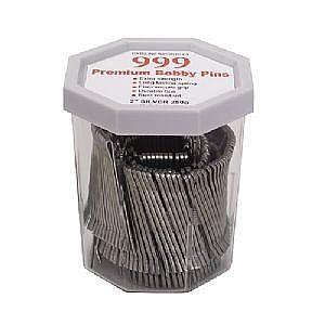 999 Bobby Pins 2″ Silver