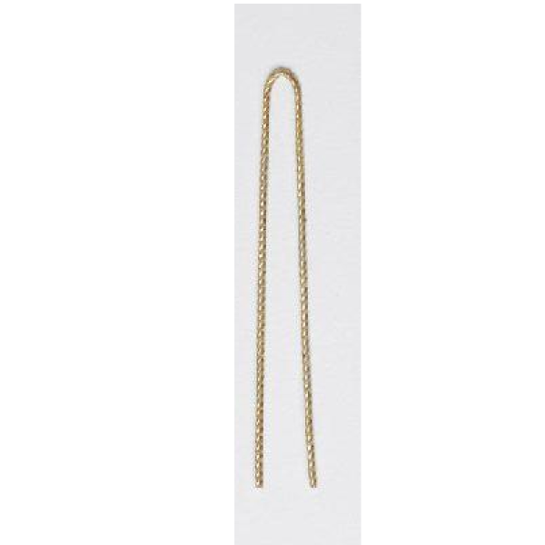 Glide 5cm ripple pins gold