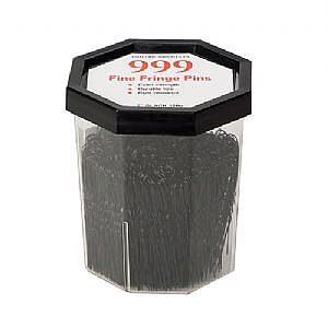 999 Fringe Pins 2″ Black