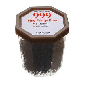 999 fringe pins bronze