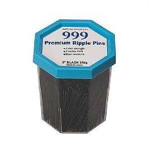 999 Ripple Pins 2″ Black
