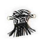 Glide Zebra Pouch Tassels