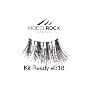 ModelRock Lashes Kit Ready #318