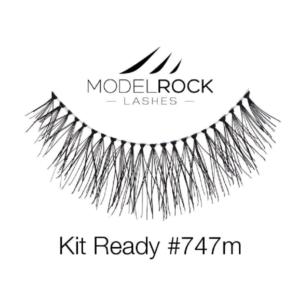 ModelRock Lashes Kit Ready #747m