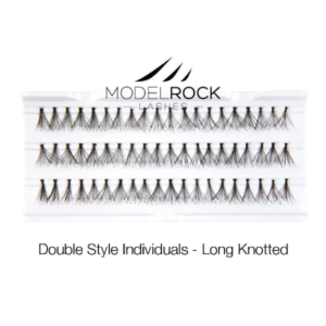 ModelRock Double Style Individual lashes – Long Knotted