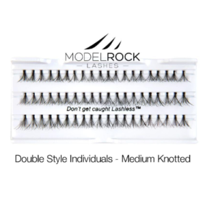 ModelRock Double Style Individual lashes – Medium Knotted