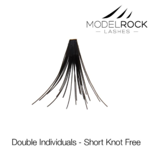 ModelRock Double Style Individual lashes – Short Knot Free