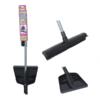 Salon Broom with Dustpan