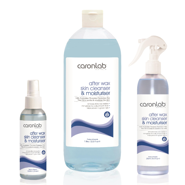 Caronlab after wax skin cleanser