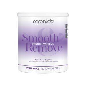 Caronlab Smooth & Remove French Vanilla Strip Wax 800ml