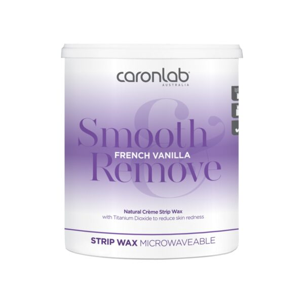 Caronlab Smooth & Remove French Vanilla Strip Wax 800ml