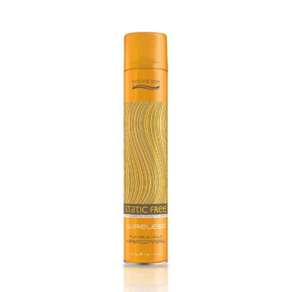 Natural Look Static Free Wireless Hairspray