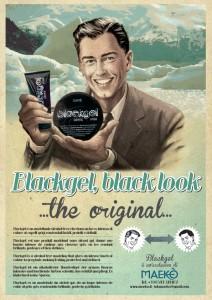 Blackgel Vintage poster