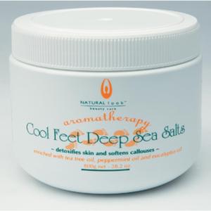 Natural Look Cool Feet Deep Sea Salts