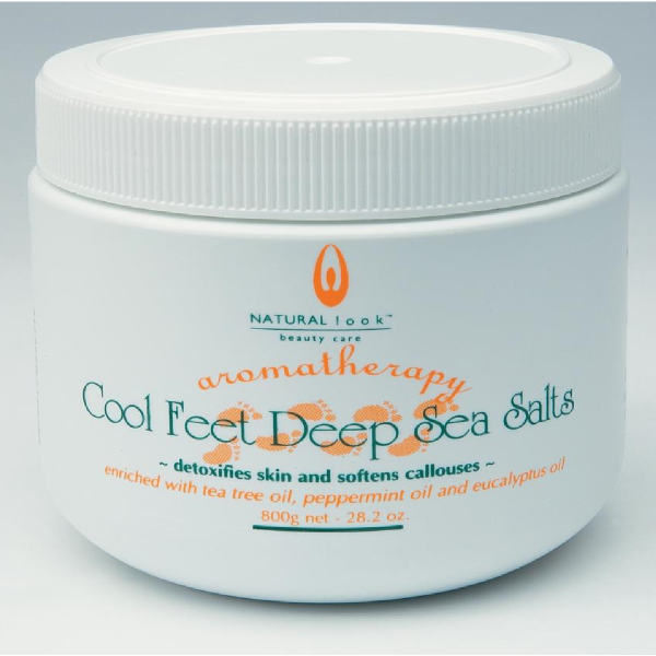 Natural Look Cool Feet Deep Sea Salts