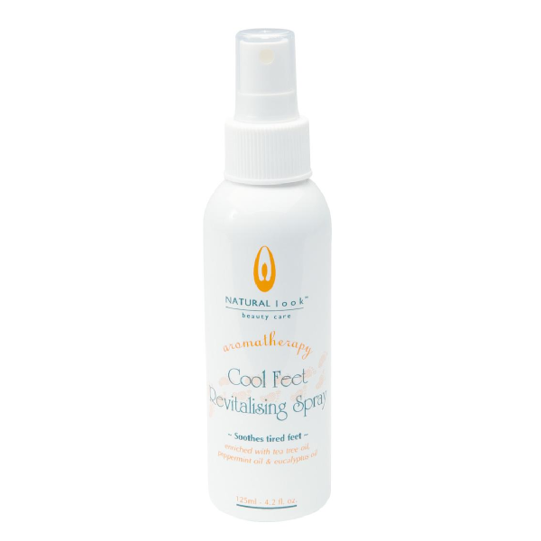 Natural Look Cool Feet Revitalising Spray