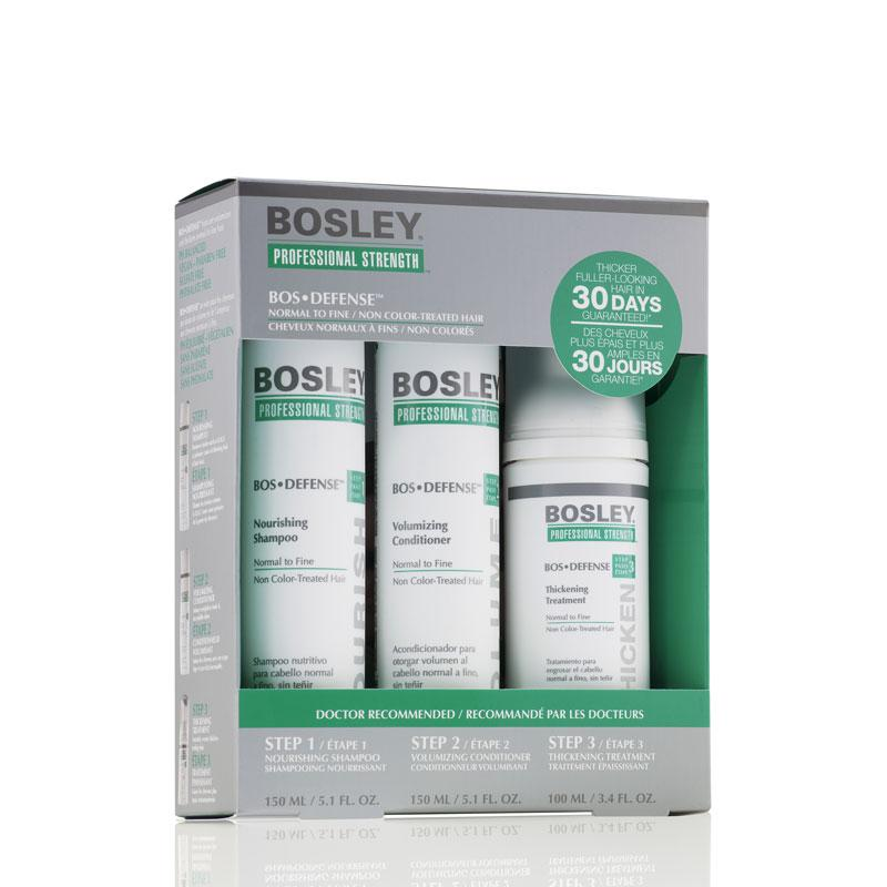 Bosley BosDefense Starter Pack For Non Color-Treated Hair