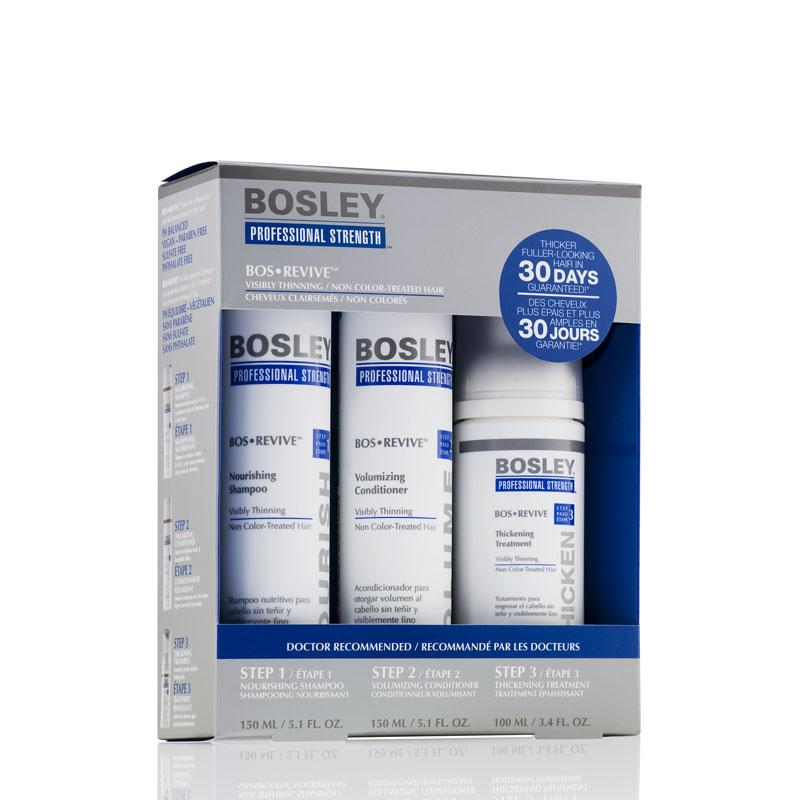 Bosley BosRevive Starter Pack For Non Color-Treated Hair