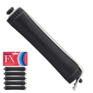 Hair FX Lightweight Perm Rods Black 17mm