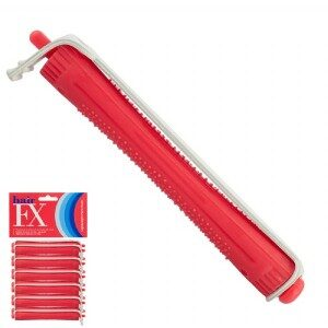 Hair FX Lightweight Perm Rods Red 9mm
