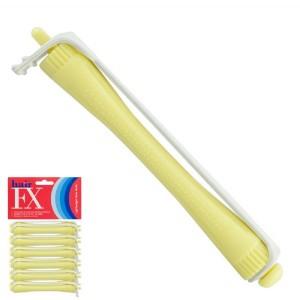 Hair FX Lightweight Perm Rods Yellow 8mm