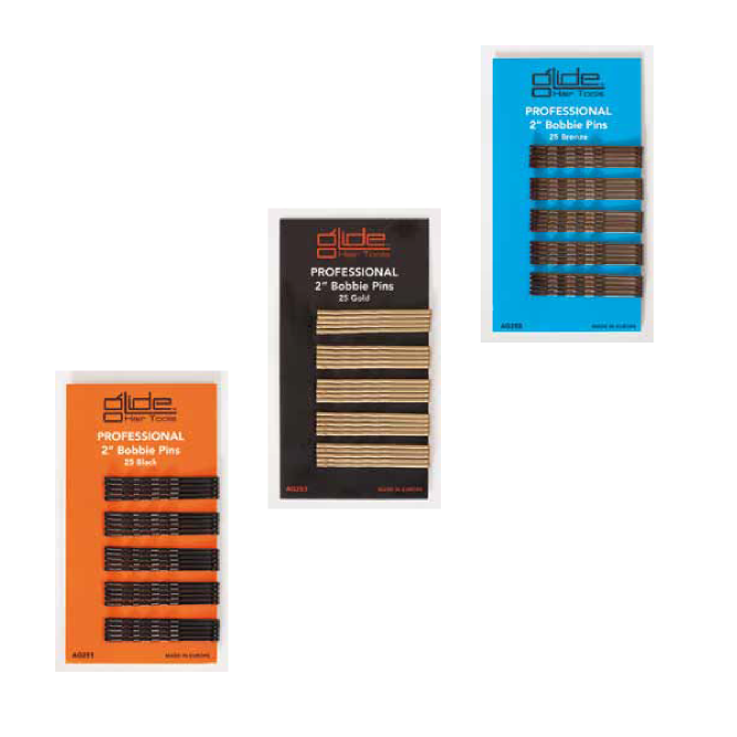 Glide Professional Bobbie Pins 25 Pack