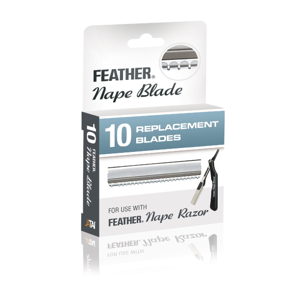 Feather Nape Razor Replacement Blades