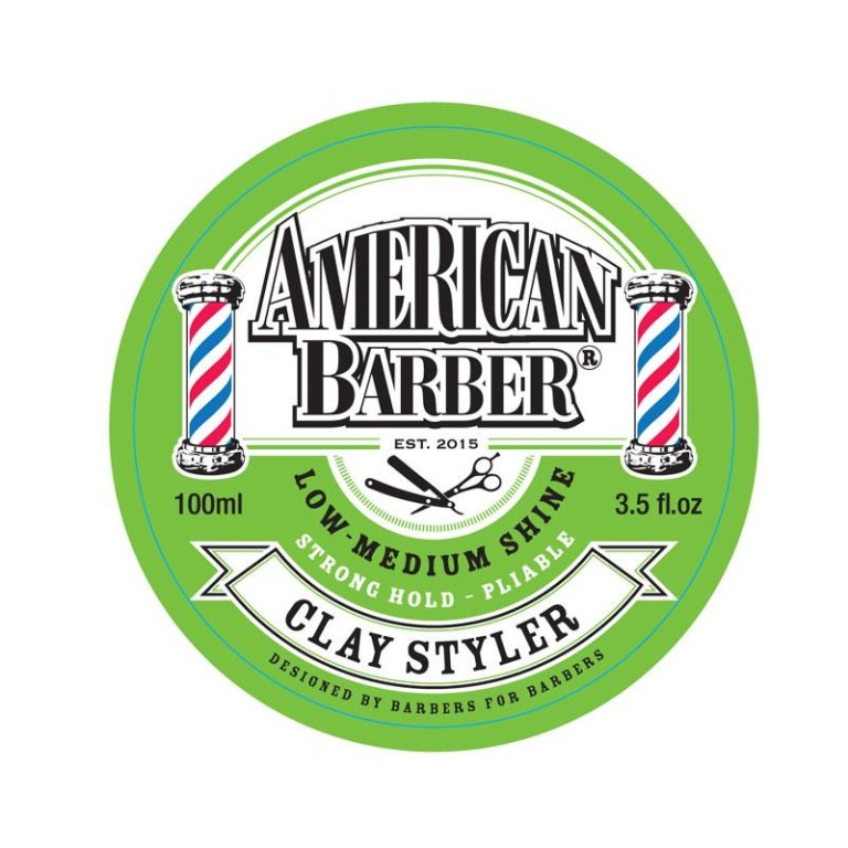 American Barber Clay Styler