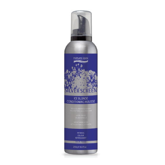 Natural Look Silver Screen Ice Blonde Conditioning Mousse