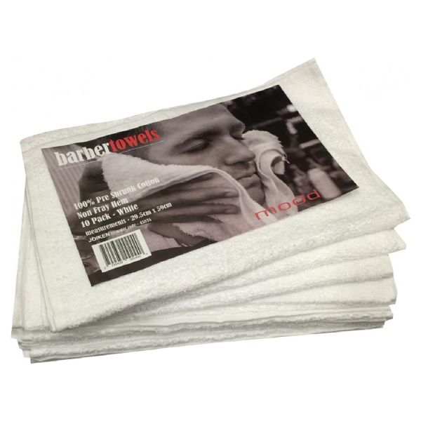 InMood Barber Towels White