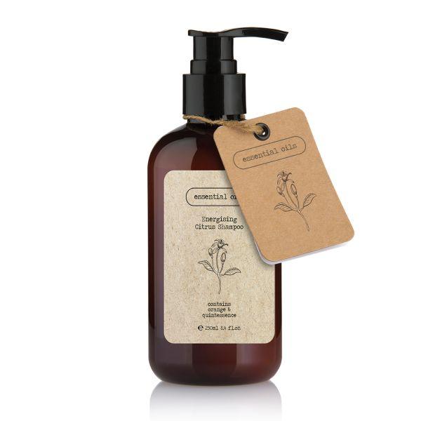 affinage essential oils energising citrus shampoo 250ml