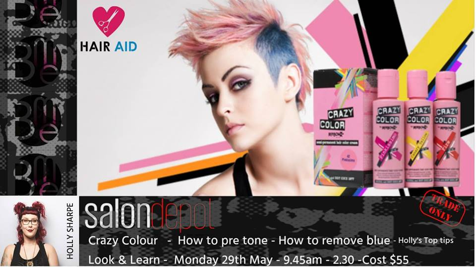 Crazy Colour Look & Learn with Holly Sharpe