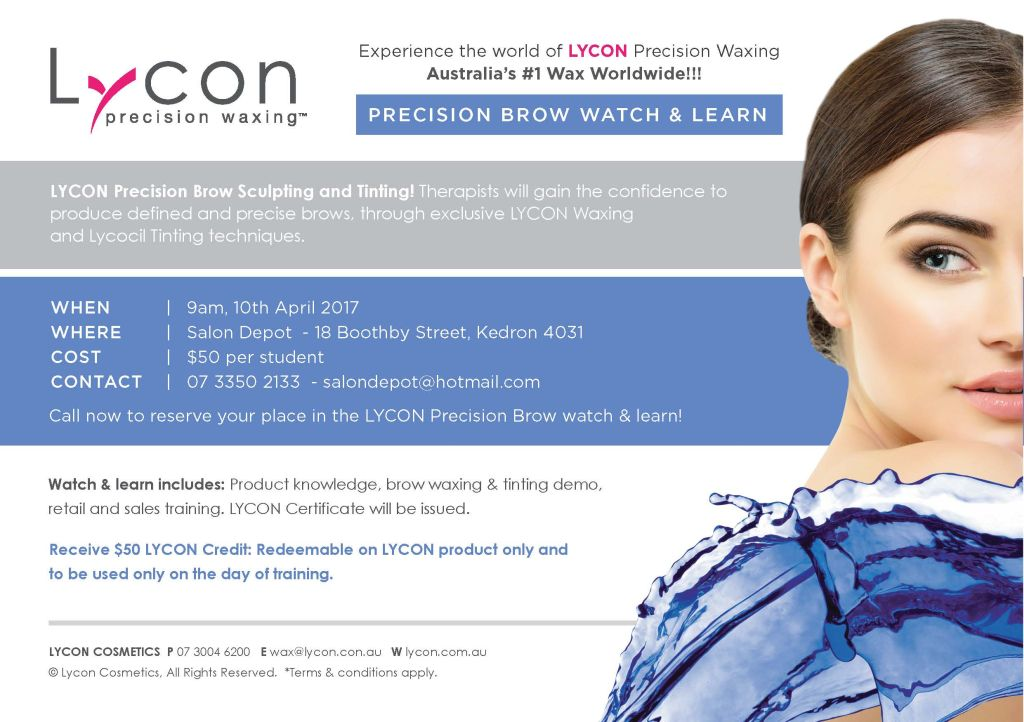 Lycon Precision Brow Watch & Learn