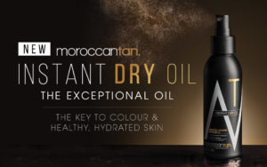 MoroccanTan Instant Dry Oil Banner