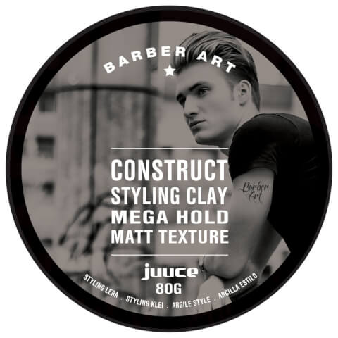 Juuce Barber Art Construct Styling Clay 80g