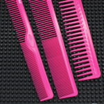 ICANDY CREATIVE SERIES TRIPLE FUCHSIA PINK COMBS SET