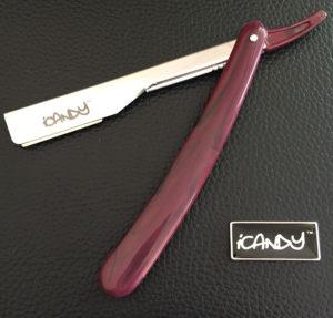 iCandy Cut Throat Razor Mahogany
