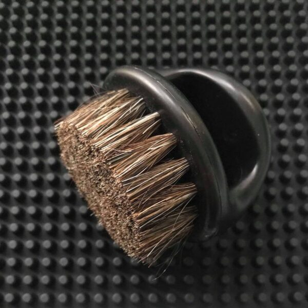 iCandy Boar Bristle Knuckle Brush Black
