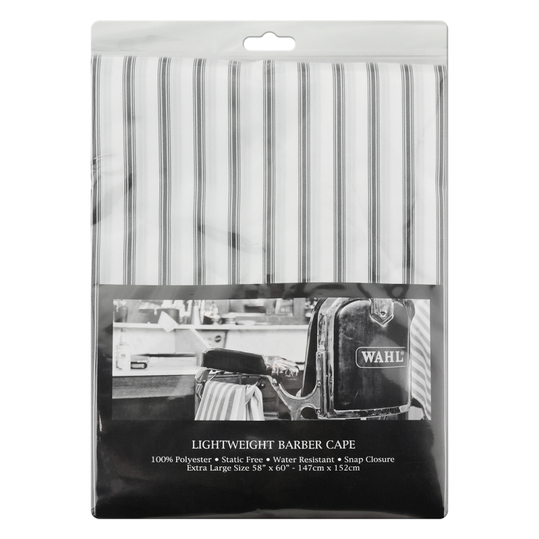 WAHL Lightweight Barber Cape White
