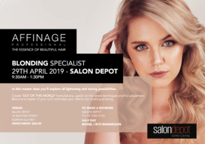 Affinage Blonding Specialist