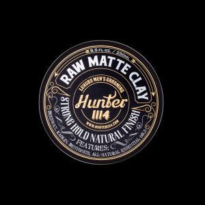 Hunter Raw Matte Clay